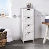 Skřiňka Basic - bílá, Moderní, dřevěný materiál (30/82/30cm) - MÖMAX modern living