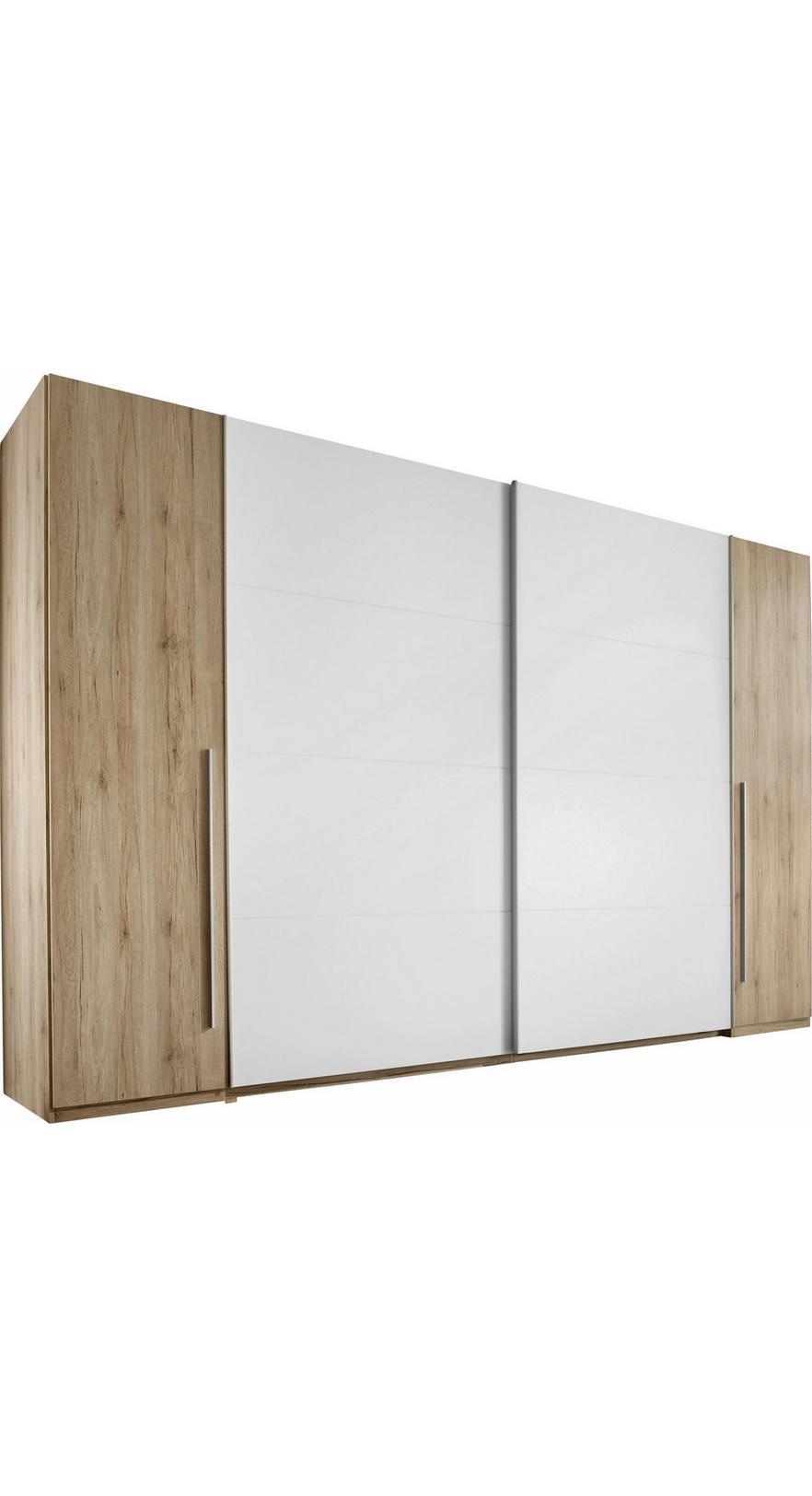061812e344a79 Skriňa S Posuvnými Dvermi Joker - farby dubu/biela, Konvenčný, drevo (315
