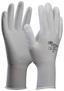 Microflexhandschuhe Gr. 7 - Weiß, KONVENTIONELL, Textil (7) - Gebol