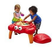 Sand- und Wassertisch Step2 Crabbie Sand - Rot/Orange, MODERN, Kunststoff (62/56/61,5cm)