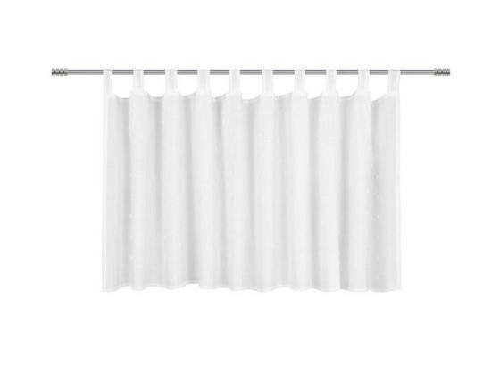 Krátka Záclona Marie - biela, Romantický / Vidiecky, textil (150/50cm) - Premium Living