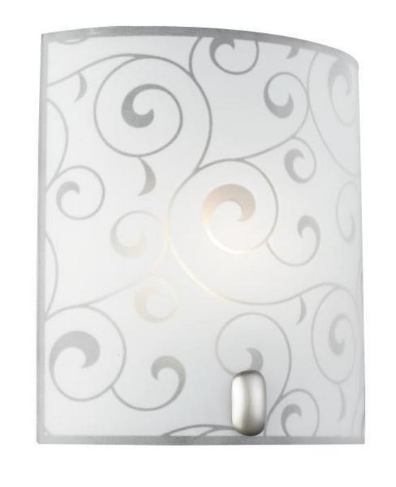Mennyezeti Lámpa Sabine - konvencionális, Üveg/Fém (20/22/9cm)