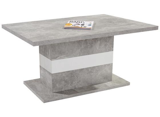moderner couchtisch mali in betonoptik hell online kaufen. Black Bedroom Furniture Sets. Home Design Ideas