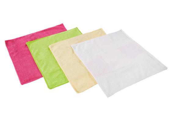 Utierka Z Mikrovlákna 4 Ks  Set -ext- - oranžová/biela, textil (35/35cm) - Mömax modern living