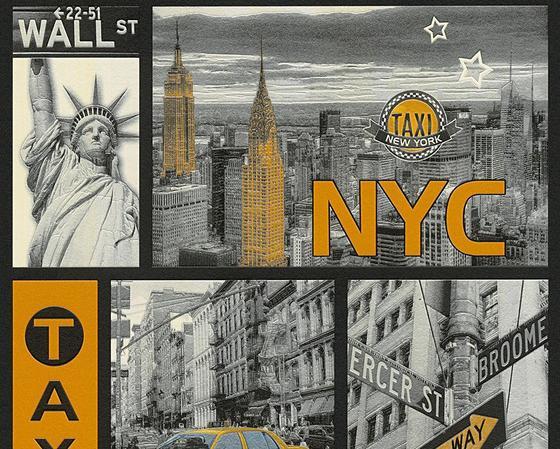 Tapeta Vinylová 30045-1 - Multicolor, Konvenční, papír (53/100.5cm)