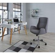 Kancelářska Otočná Židle River - šedá/barvy chromu, Moderní, kov/textil (56/97-105cm) - Luca Bessoni