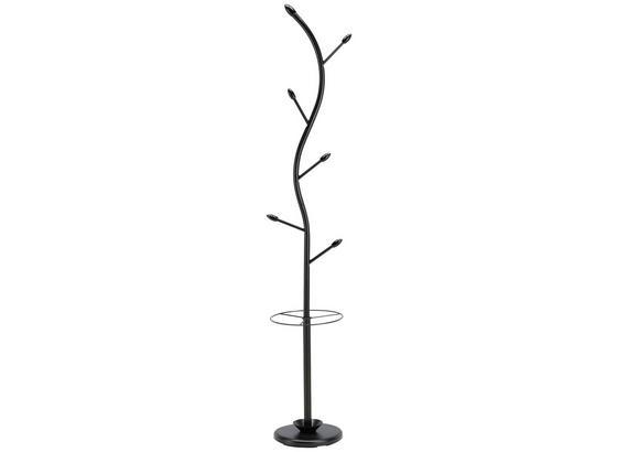 Vešiak Na Odev Ela -sb- - čierna, Moderný, kov/drevo (28/180/28cm) - Mömax modern living