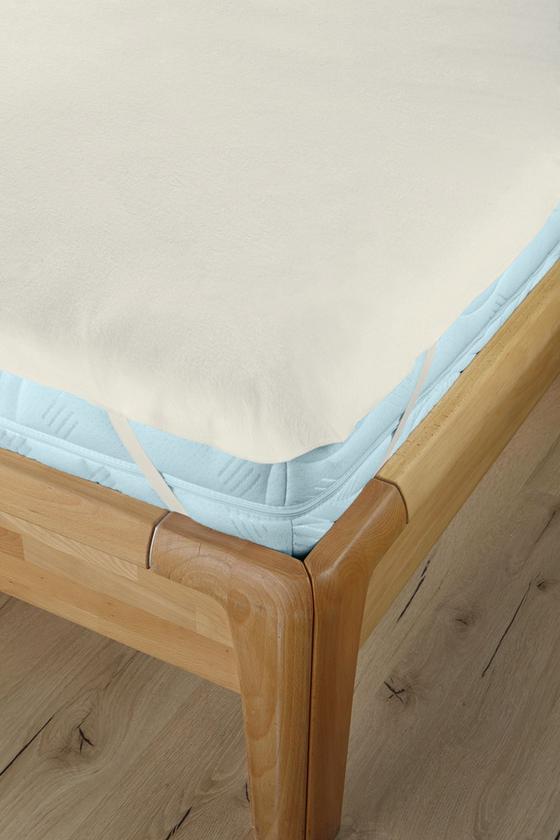 Matracvédő Rina - natúr színek, konvencionális, textil (100/200cm) - PRIMATEX