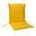 Sesselauflagenset Premium T: 100  cm Gelb - Gelb, Basics, Textil (50/8-9/100cm) - Ambia Garden