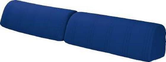 Kissensatz Kim - Blau, MODERN, Textil (30/100cm)