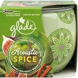 Duftkerze Acoustic Spice - Grün, MODERN, Glas (8,1/7,2/8,3cm)