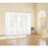Store Transparent One BxL: 245x300 cm - Weiß, KONVENTIONELL, Textil (300/245cm) - Ombra