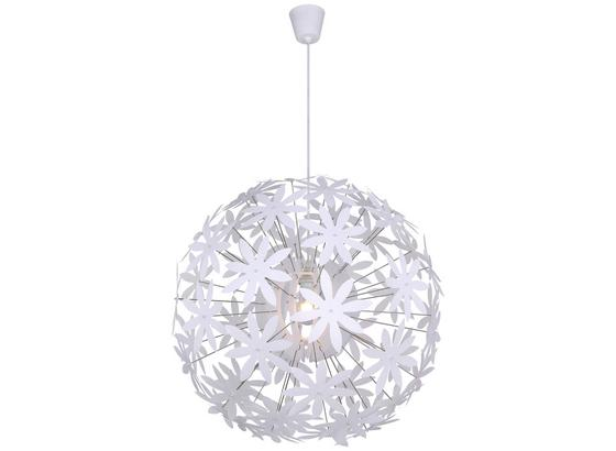 Hängeleuchte D/H: ca. 60x150cm - Weiß, Basics, Kunststoff (60/150cm)
