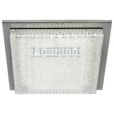 LED-Deckenleuchte Verona - Weiß, MODERN, Kunststoff/Metall (35/35/10cm) - LUCA BESSONI