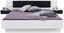 Bettanlage Virgo 2 180x200 Weiß/graphit Dekor - Graphitfarben/Weiß, MODERN, Holzwerkstoff (180/200cm)