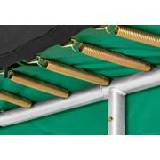 Bodentrampolin 213x305cm Salta Excellent Ground 548g - Grün, Trend, Kunststoff/Metall (213/305cm)