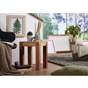 Beistelltisch Mumbai L: ca. 35 cm - Akaziefarben, Design, Holz (35/35/45cm) - Livetastic