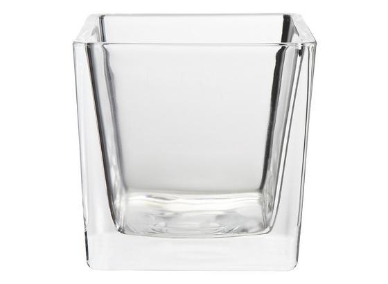 Stojan Čajových Sviečok Nora - číre, Moderný, sklo (10/10/10cm) - Mömax modern living