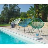 Zahradní Židle Uno - bílá/černá, kov/umělá hmota (72/88/77cm) - MÖMAX modern living