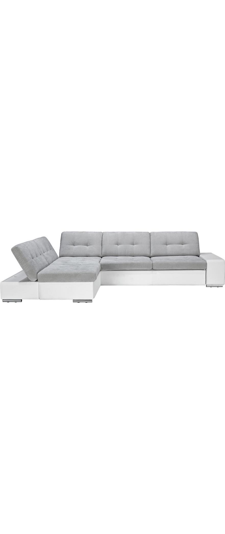 7e837e204 Sedacia Súprava Velato - sivá/biela, Moderný, umelá hmota (200/310cm