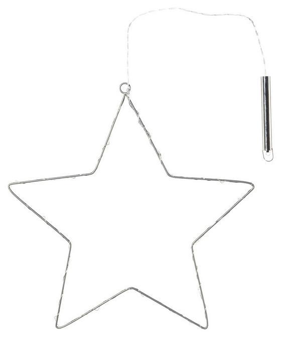 Dekostern Ø 40 cm - Silberfarben, MODERN, Metall (40/40cm)
