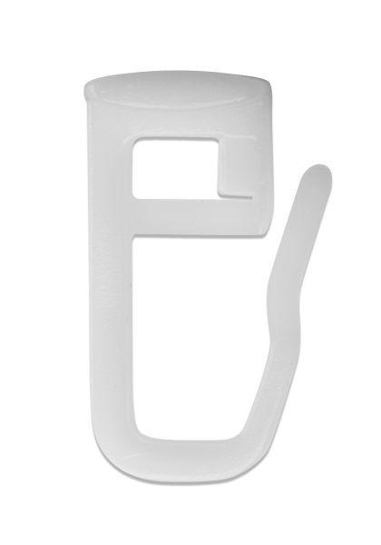 Függönygörgő 50db/csomag - fehér, konvencionális, műanyag - MHZ