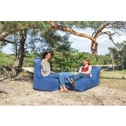 Outdoorsitzsack Slope B: 85 cm Schwarz - Schwarz, Basics, Textil (85/90/85cm) - Ambia Garden