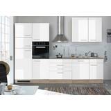 Küchenleerblock Laurel 310cm Eiche/Weiß - Weiß/Sonoma Eiche, KONVENTIONELL, Holzwerkstoff (310cm) - MID.YOU