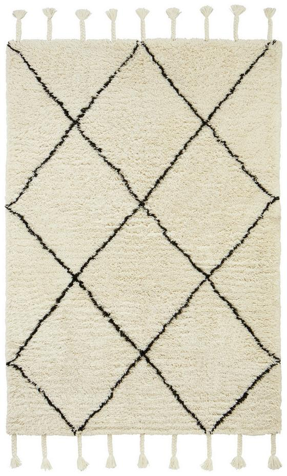 Tkaný Koberec Bombay - čierna/biela, textil (160/230cm) - Mömax modern living