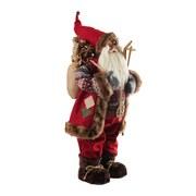 Weihnachtsmann Athur - Rot/Braun, Basics, Holz/Kunststoff (38/80/27cm) - Ombra