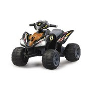 Ride-On Quad Gelb/Grau - Gelb/Rot, Basics, Kunststoff (94/65,5/58cm)