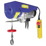 Elektro-Seilzug                                                                                                                                                                                                                                                 125/250 Kg 33252 - Blau, MODERN, Kunststoff/Metall (36/23/14,5cm) - Erba