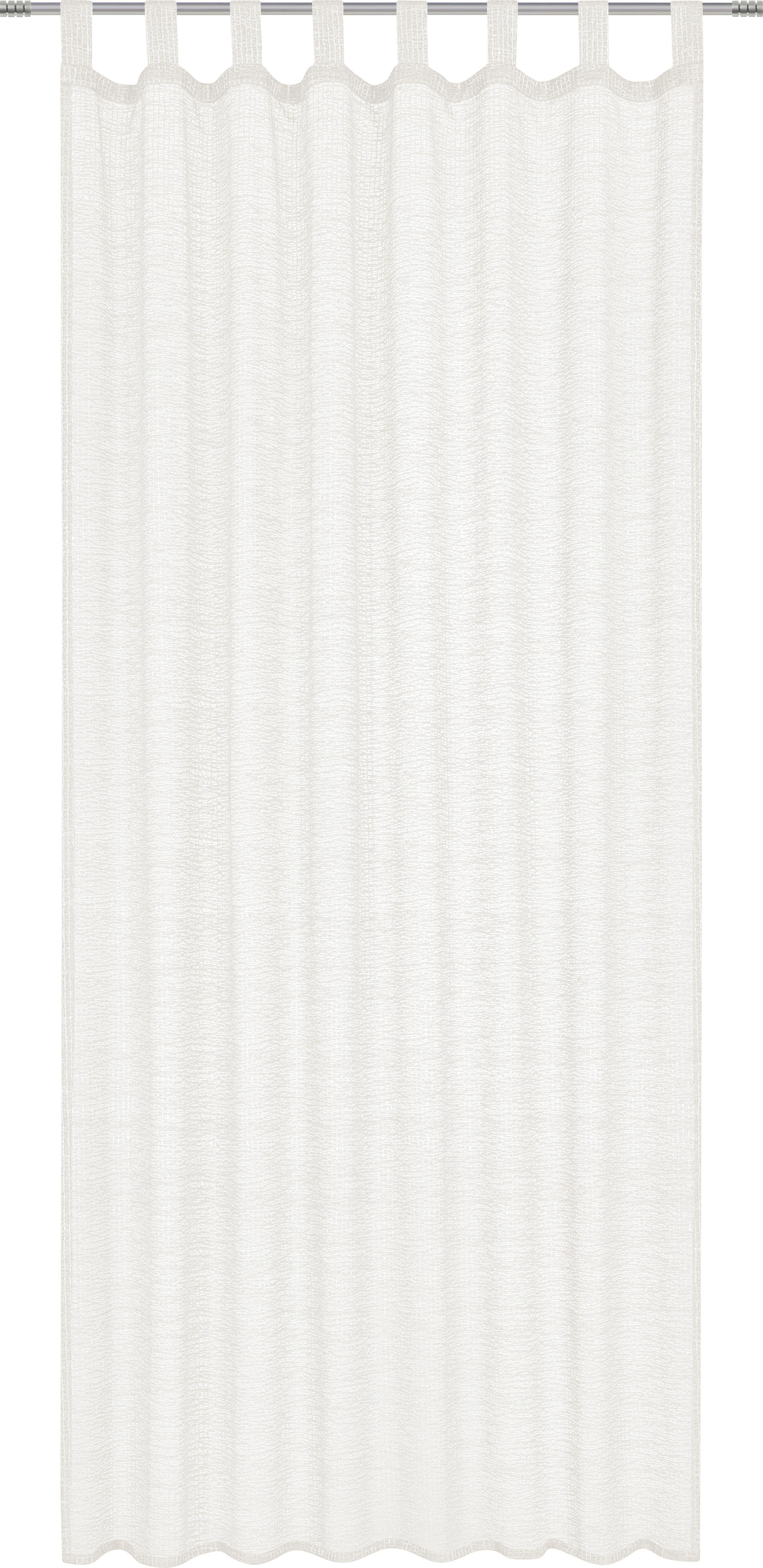 Kombi Készfüggöny Meike - natúr színek, konvencionális, textil (140/245cm)