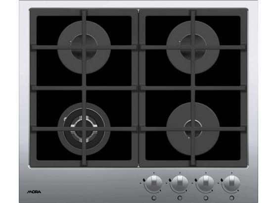 Plynová Varná Deska Vdp 645 Gx1  (mora) - černá, kov/sklo (60/5,5/51cm) - Mora