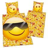Bettwäsche Emot!x Sonnenbrille - Multicolor, MODERN, Textil
