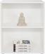 Regál Josef 4 - bílá, Moderní, kompozitní dřevo (60/80/30cm)