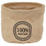 Aufbewahrungskörbchen Jutta - Naturfarben, Basics, Textil (18/14cm)