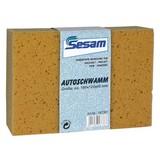 Schwamm Sesam - Gelb, MODERN, Textil (12/18/6cm)