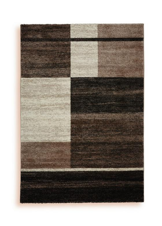 Webteppich Selem 160x230 cm - Creme/Braun, Textil (160/230cm) - Ombra