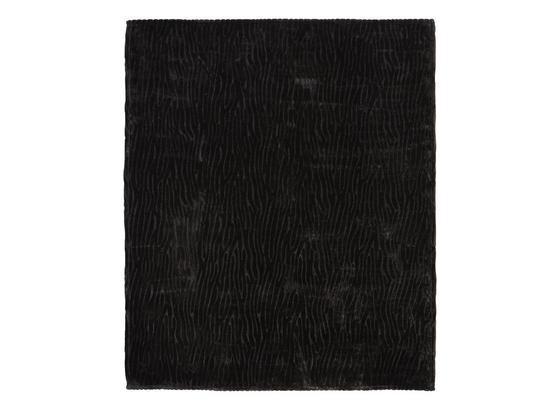 Decke Milo - Schwarz, ROMANTIK / LANDHAUS, Textil (180/220cm) - James Wood