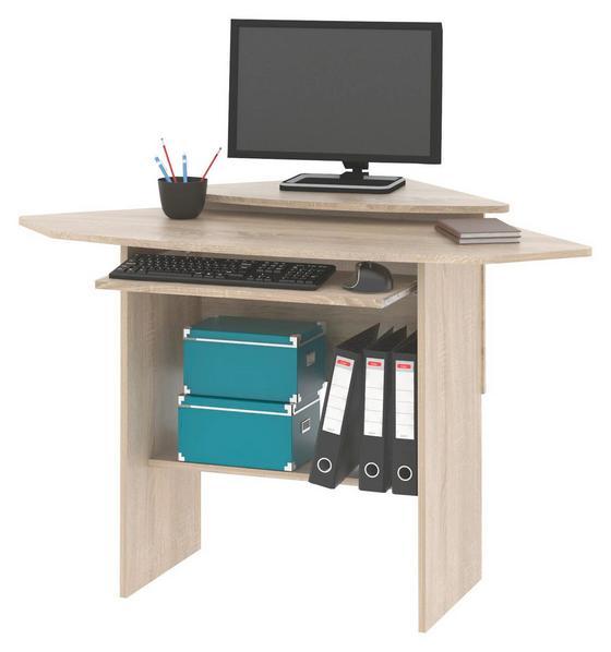 Písací Stôl Petrik - farby dubu, Moderný, drevo (92/83.5/92cm)