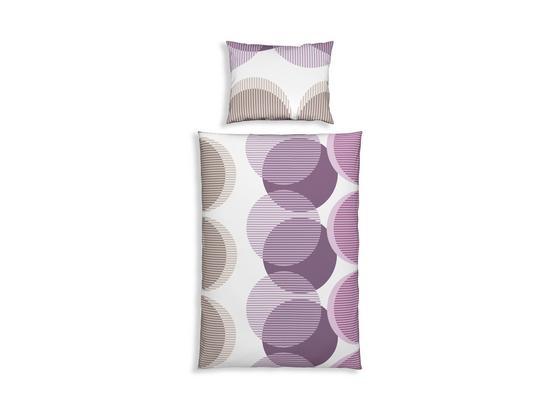 Bettwäsche In Violett Und Grau Möbelix