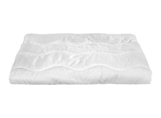 Přikrývka Zilly - bílá, textil - Nadana