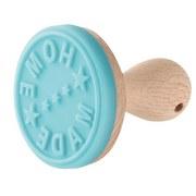 Keksstempel Candy - Blau/Braun, KONVENTIONELL, Holz/Kunststoff (6,5/6,5cm)