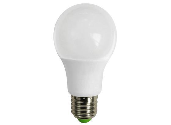 Led Žárovka *cenový Trhák* E27, 7 Watt - bílá, kov/umělá hmota (6/12cm) - Based