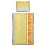 Bettwäsche Helia - Orange, MODERN, Textil - Luca Bessoni