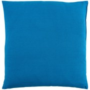 Zierkissen Verena - Blau, KONVENTIONELL, Textil (48/48cm) - Ombra