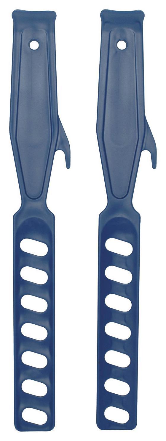 Farbrührer Doppelpack - Blau, KONVENTIONELL, Kunststoff (28.5cm) - Gebol
