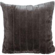 Zierkissen Emma 45x45 cm - Grau, KONVENTIONELL, Textil (45/45cm) - Ombra