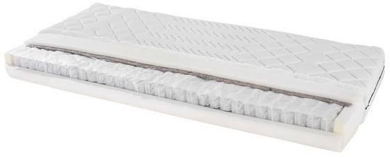 Taschenfederkernmatratze Primavera H2 90x200 - Weiß, Textil (90/200cm) - Primatex